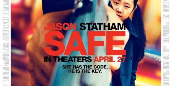 Like many of Jason Statham's films, Safe has the English actor shooting guns ...