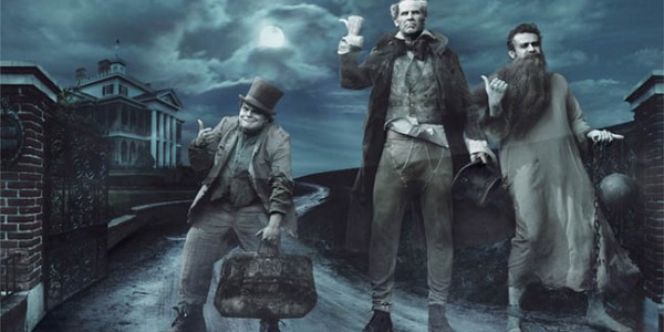 Jack Black, Will Ferrell & Jason Segel as Haunted Mansion Ghosts