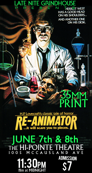 LNGH Presents RE-ANIMATOR