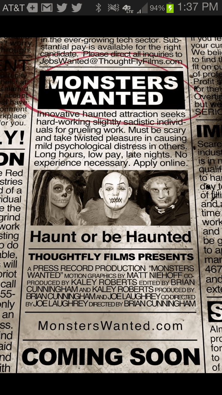 monsters-wanted