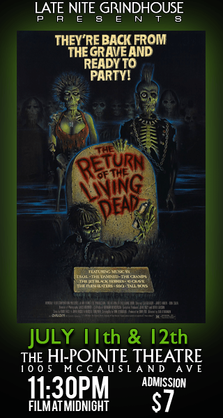 LNGH Presents THE RETURN OF THE LIVING DEAD