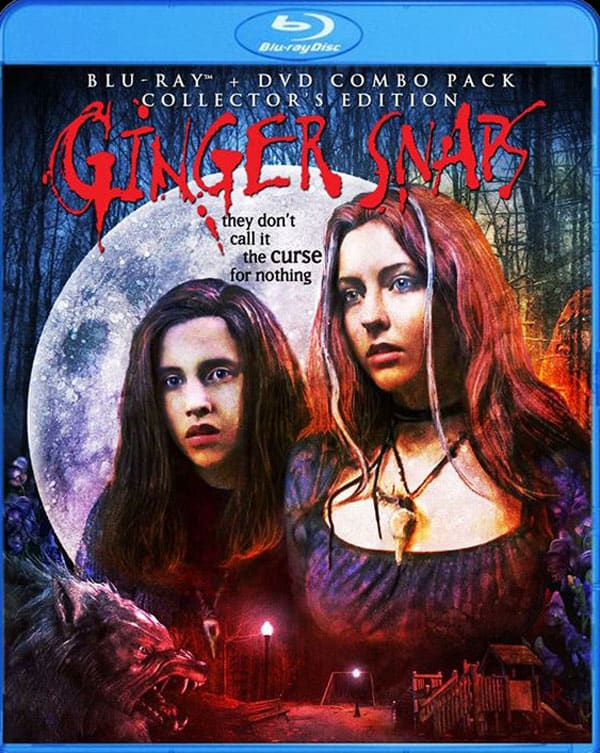 Ginger Snaps Blu-Ray Cover