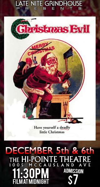 LNGH Presents CHRISTMAS EVIL