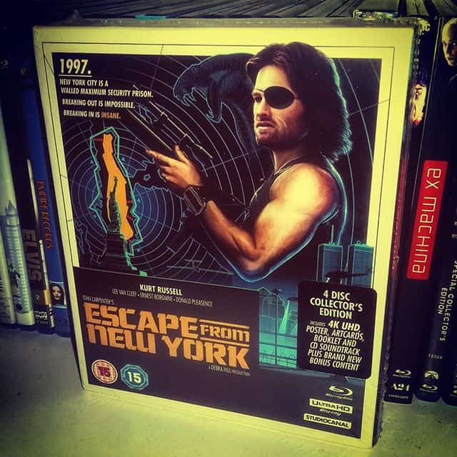 escape from new york collectors edition review